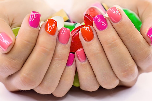 Brighten up your look and have your nails done by Rejuvi on the West Coast now!